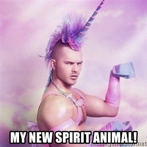 Unicorn man  - My new spirit animal!