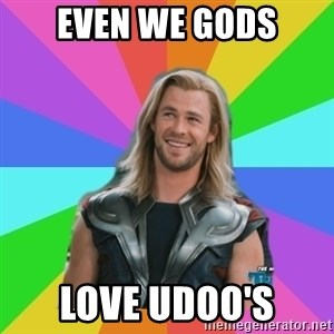 Overly Accepting Thor - Even we gods Love udoo's