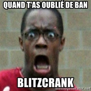 SCARED BLACK MAN - Quand t'as oublié de ban Blitzcrank