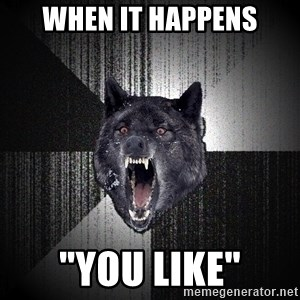 """Insanity Wolf - when it happens """"you like"""""""