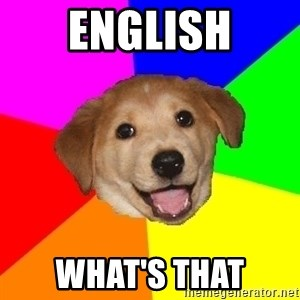 Advice Dog - english what's that