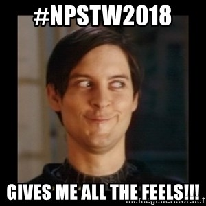 Tobey_Maguire - #npstw2018   Gives me all the feels!!!
