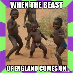 african kids dancing - When the Beast  of ENgland comes on