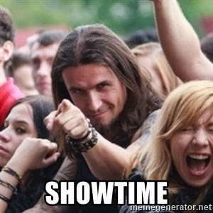 Ridiculously Photogenic Metalhead - showtime