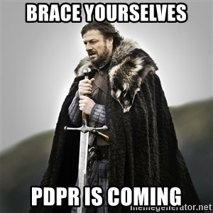 Game of Thrones - Brace yourselves PDPR is coming