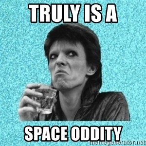 Disturbed Bowie - truly is a space oddity