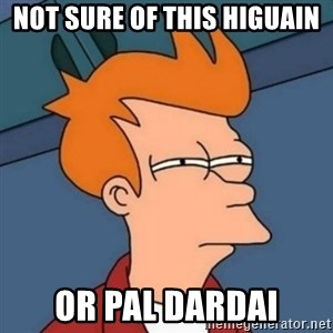 Not sure if troll - Not sure of this Higuain OR PAL Dardai