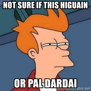 Not sure if troll - NoT Sure if this higuain Or pal Dardai