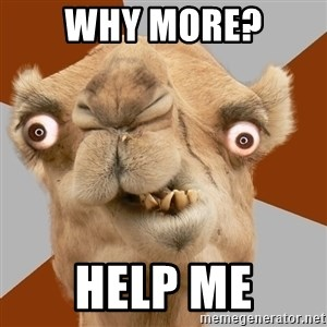 Crazy Camel lol - Why more? Help Me