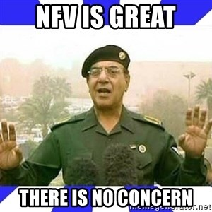 Comical Ali - NFV is Great There is no Concern