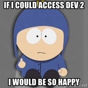 South Park Craig - IF I COULD ACCESS DEV 2 I WOULD BE SO HAPPY