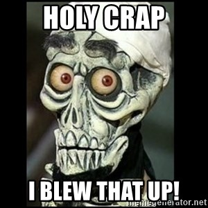 Achmed the dead terrorist - Holy Crap I blew that up!