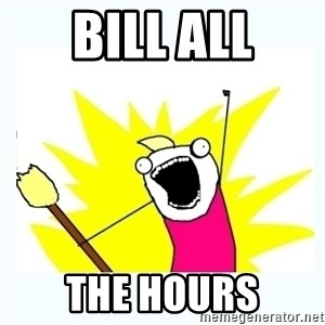 All the things - BILL ALL THE HOURS