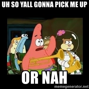 Patrick Star Instrument - uh so yall gonna pick me up or nah