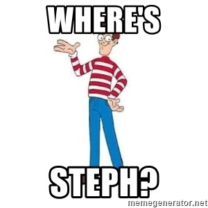 Where's Waldo - Where's Steph?