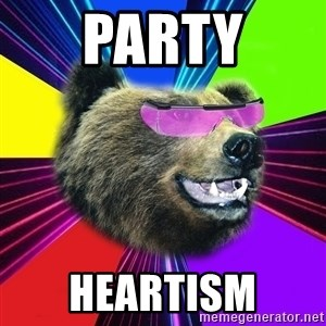 Party Bear - party heartism