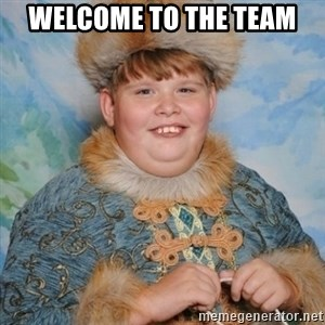 welcome to the internet i'll be your guide - Welcome to the team