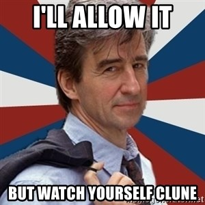 Jack McCoy - I'll allow it but watch yourself Clune