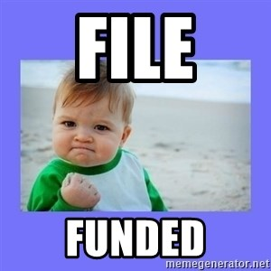 Baby fist - file funded
