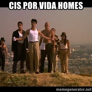 Blood in blood out - CIS por vida homes