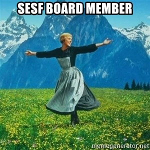 Look at All the Fucks I Give - Sesf board member