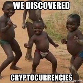 african children dancing - we discovered cryptocurrencies