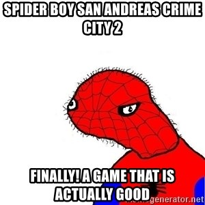 spoderman - Spider Boy San Andreas Crime City 2 Finally! A game that is actually good