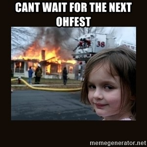 burning house girl - cant wait for the next OHfest