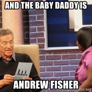 Maury Lie Detector - And the baby daddy is  andrew fisher