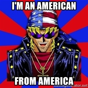 bandit keith - I'm an American From America