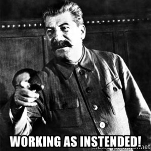 Joseph Stalin - Working as instended!