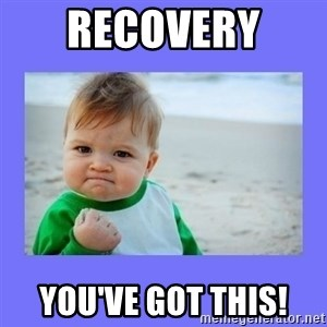 Baby fist - Recovery  You've got this!