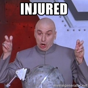 Dr. Evil Air Quotes - Injured