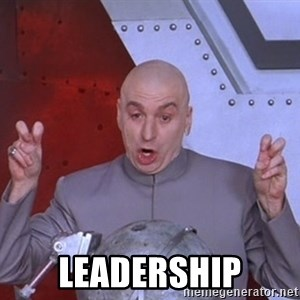 Dr. Evil Air Quotes - LEADERSHIP