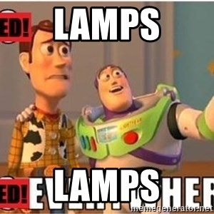 Toy Story Everywhere - Lamps Lamps