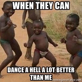 african children dancing - when they can dance a hell a lot better than me
