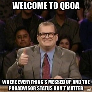 drew carey whose line is it anyway - Welcome to QBOA Where everything's messed up and the ProAdvisor status don't matter