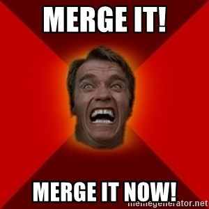 Angry Arnold - Merge it! Merge it now!