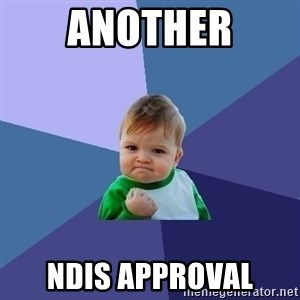 Success Kid - another ndis approval