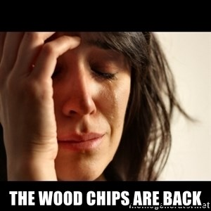 crying girl sad - The wood chips are back
