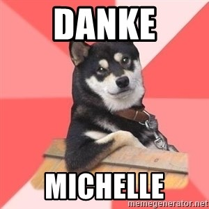 Cool Dog - DANKE MICHELLE