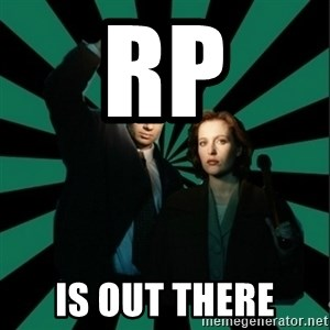 "Typical fans ""The X-files"" - RP Is out there"