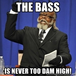 Rent Is Too Damn High - The bass is never too dam high!