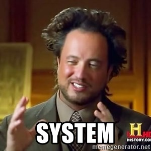 Ancient Aliens - system