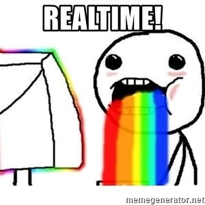 Puking Rainbows - Realtime!