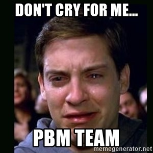 crying peter parker - Don't Cry For Me... PBM Team
