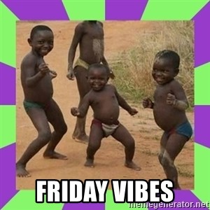 african kids dancing - Friday Vibes