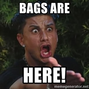 Pauly D - Bags are Here!