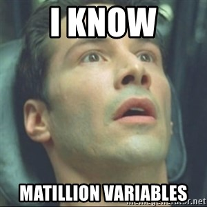 i know kung fu - I know Matillion variables