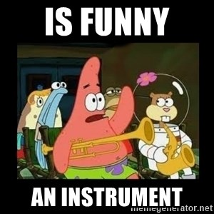 Patrick Star Instrument - is funny  an instrument